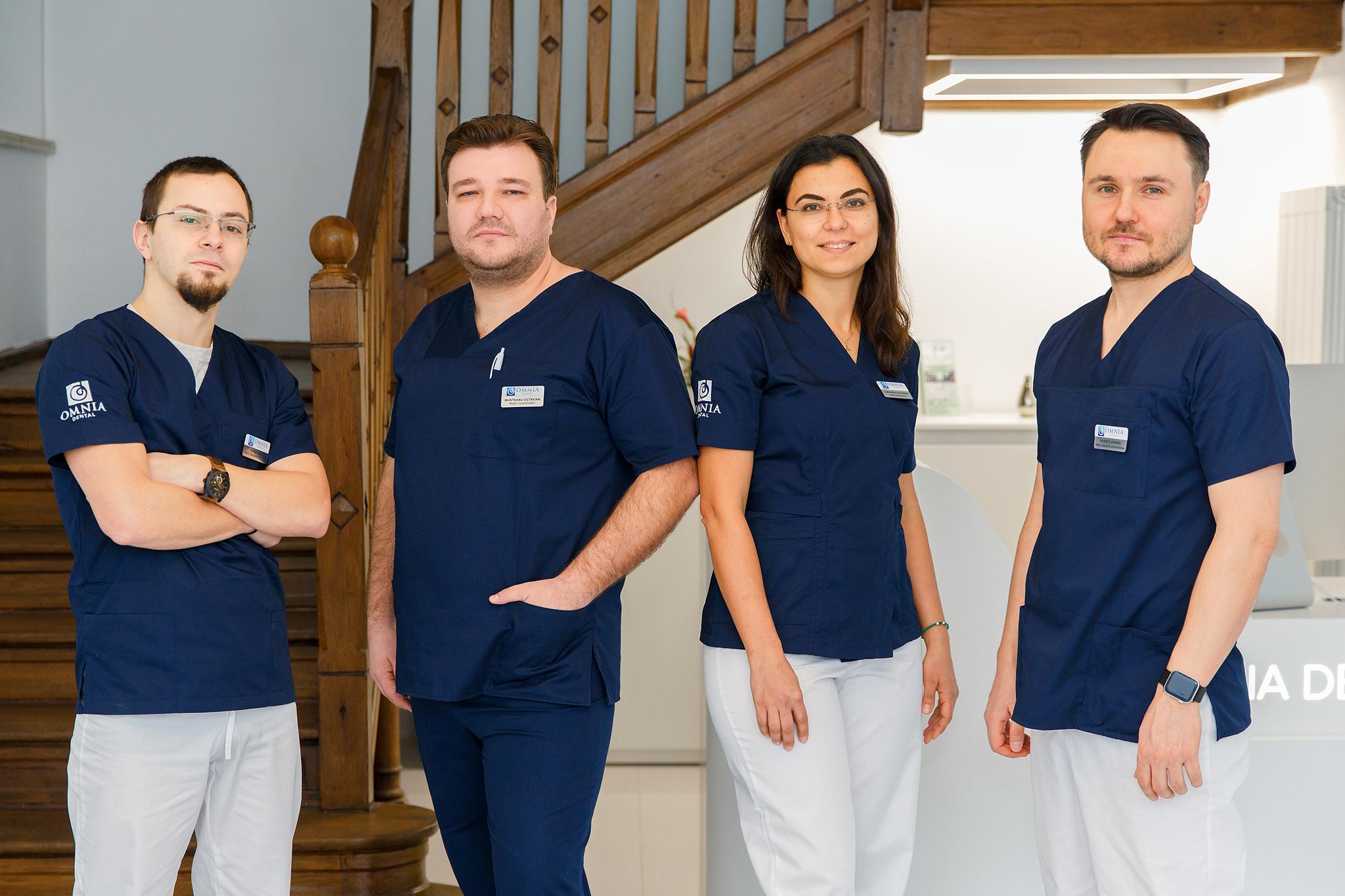 Team of Omnia Dental Clinic, Romania